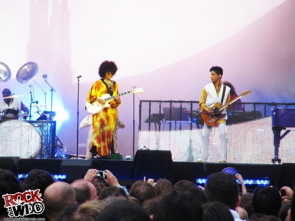Prince au Stade de France - 30 juin 2011